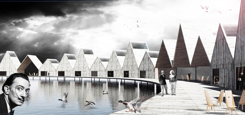 1º Lugar: Inspiration Hotel / Paul Dieterlen Architecture, © Cortesia de Paul Dieterlen Architecture