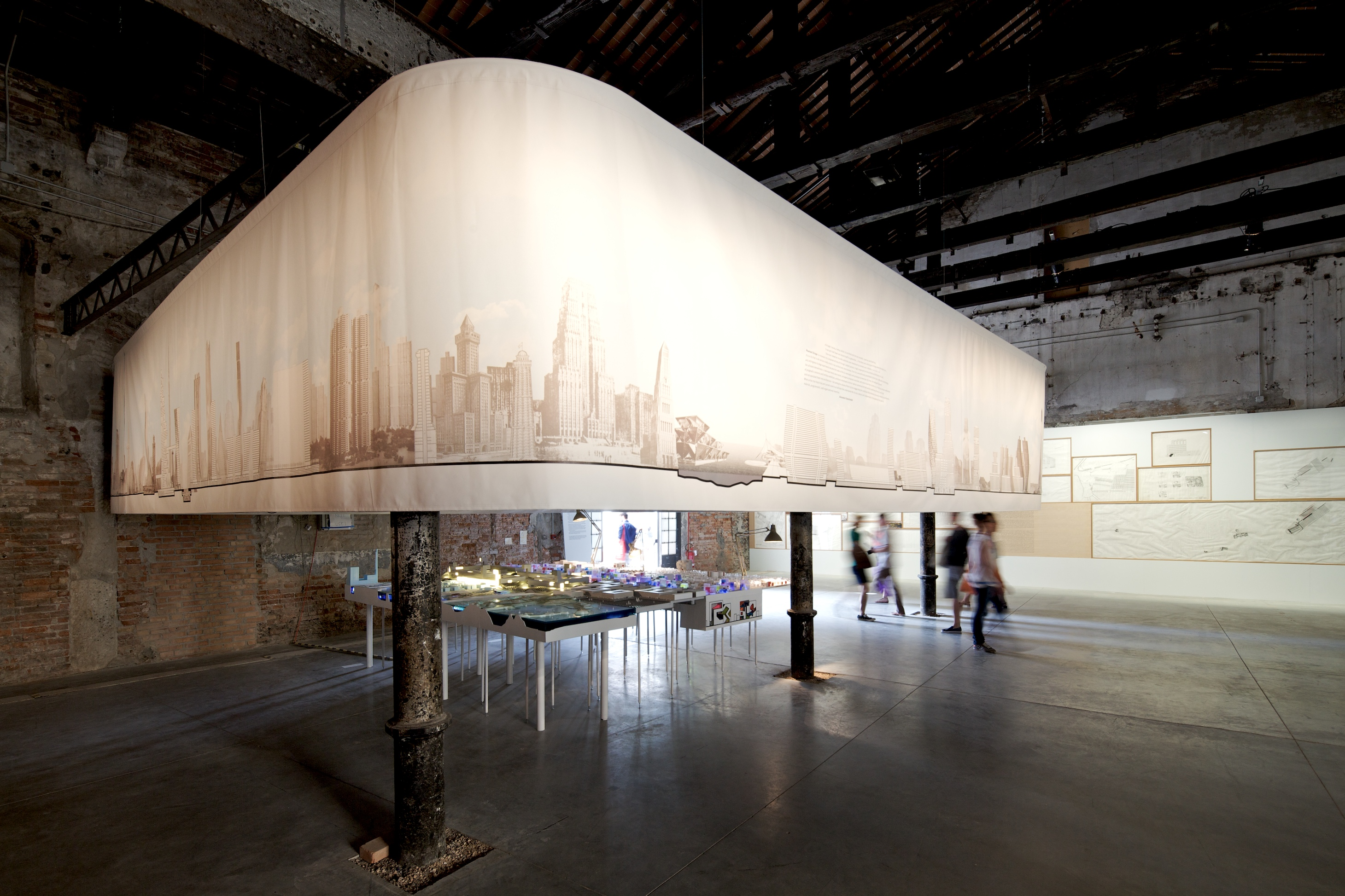 Bienal de Veneza 2012: 'Chicago Team: City Works', © Nico Saieh
