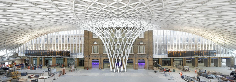 Vídeo: Projeto de iluminação em King's Cross Western, © Hufton and Crow