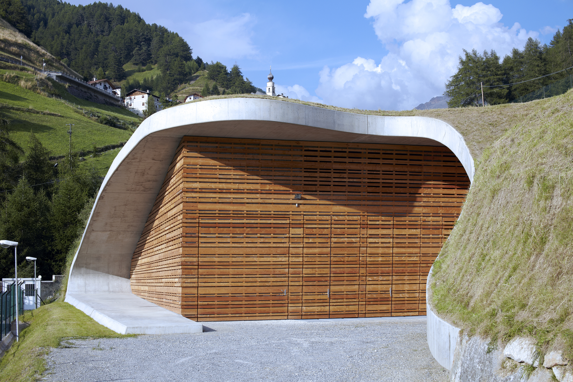 Usina Hidrelétrica Punibach / monovolume architecture + design, © Cortesia de monovolume architecture + design