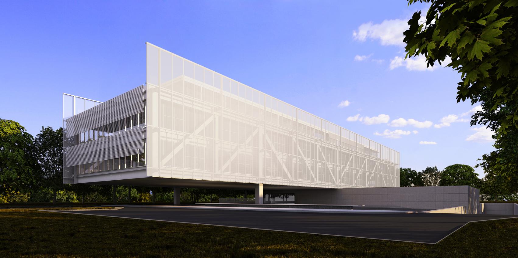 1º Lugar: Nova sede da Confederação Nacional de Municípios - CNM / Mira Arquitetos, © Cortesia de Mira Arquitetos
