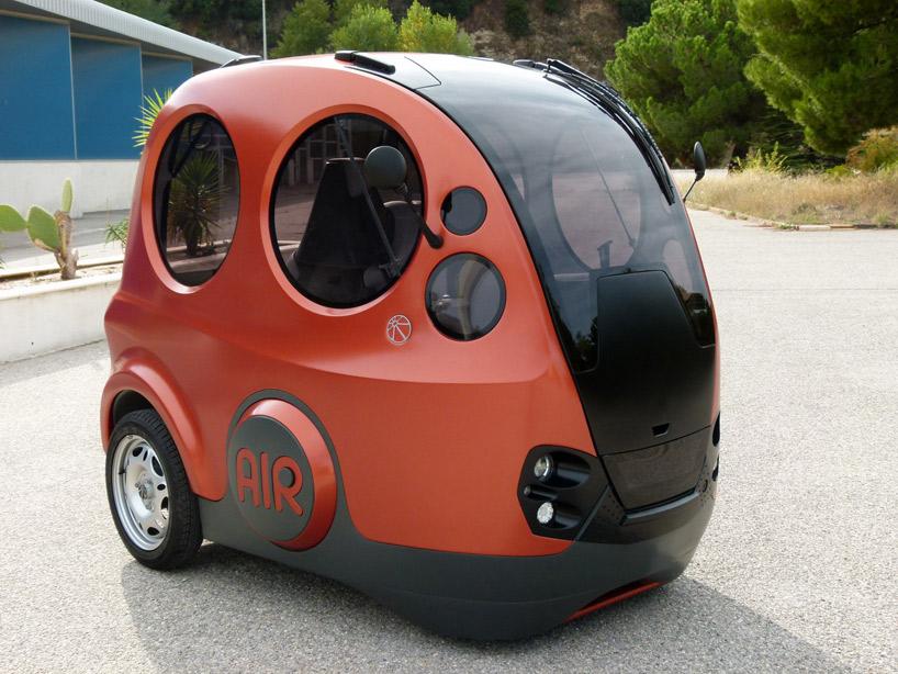 AirPod: O primeiro automóvel a ar comprimido, Via Plataforma Urbana