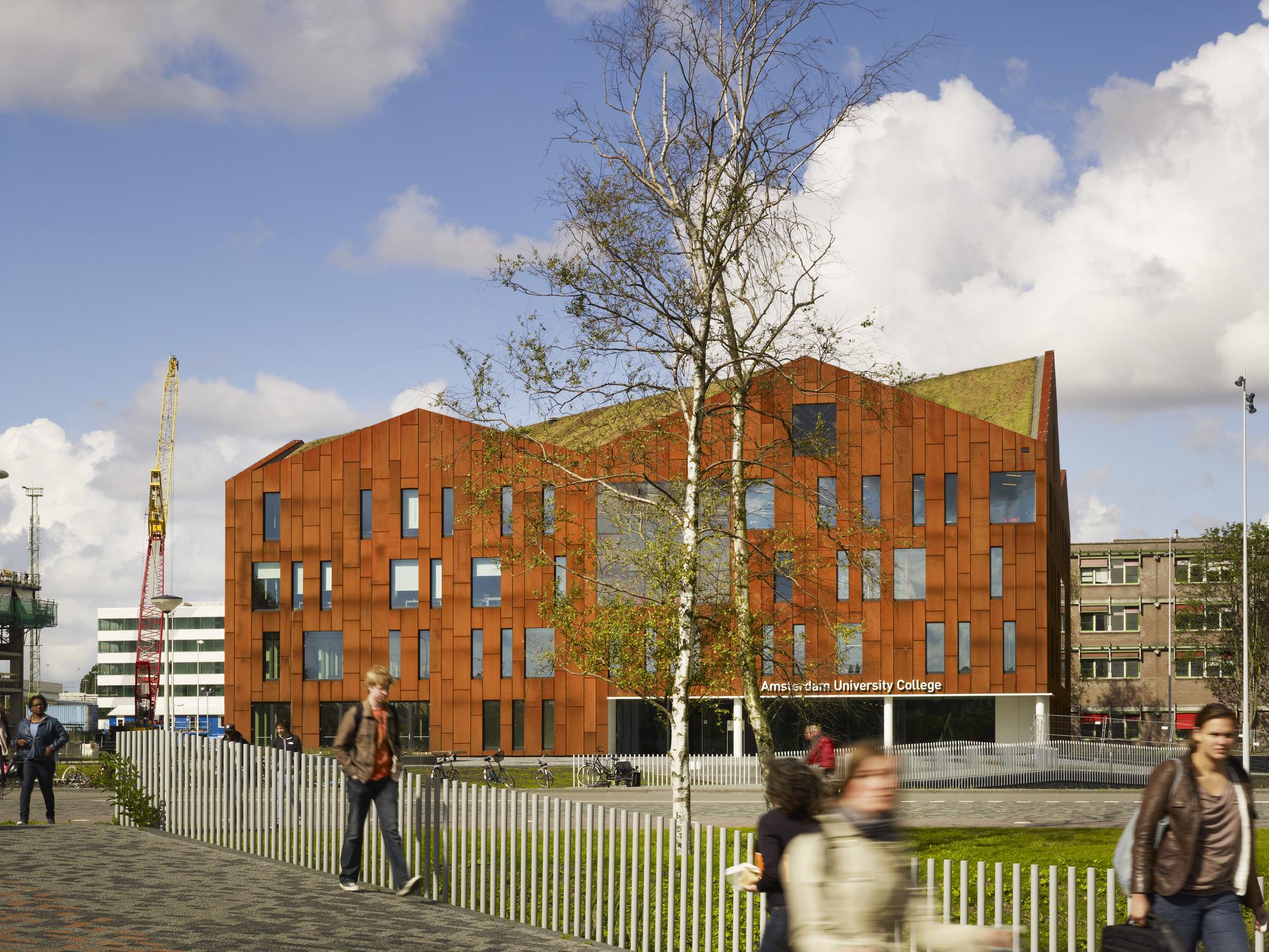 Universidade de Amsterdã / Mecanoo, © Christian Richters