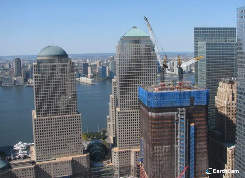 Vídeo Timelapse: Construção One World Trade Center, Imagem capturada do vídeo