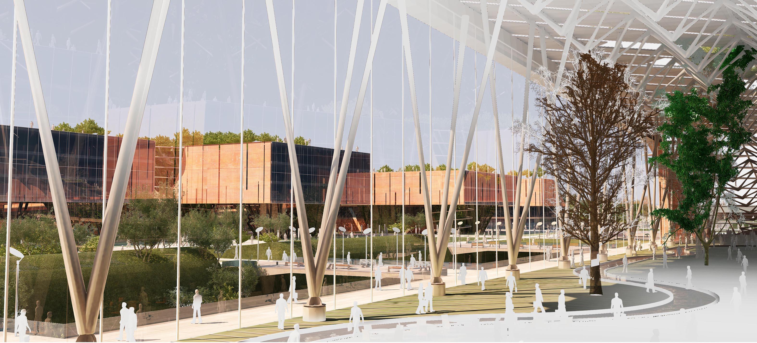 1º Lugar: Complexo de Uso Misto JAY / ASAR Consulting Engineers, © Cortesia de ASAR Consulting Engineers
