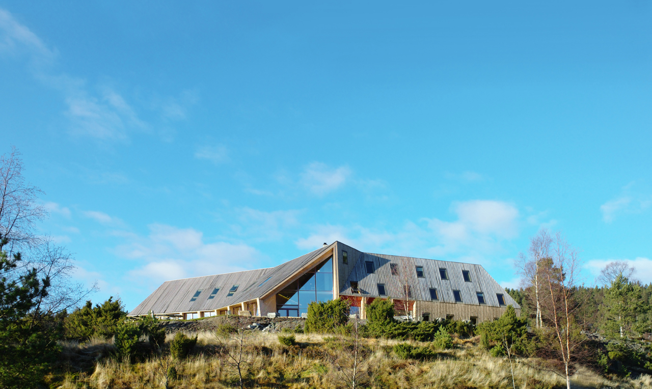 Pulpit Rock Mountain Lodge / Helen & Hard, Cortesia de Helen & Hard
