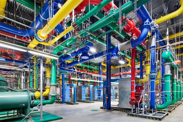 Google Data Centers, © Connie Zhou