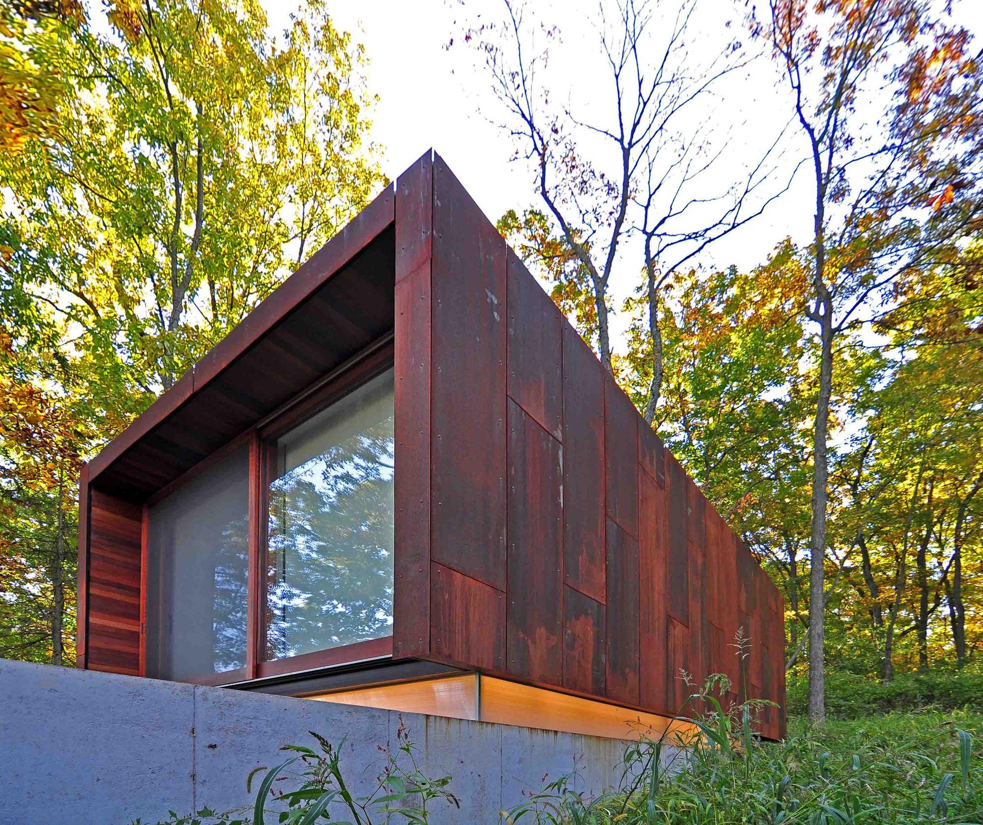 Estúdio para um Compositor / Johnsen Schmaling Architects, © John J. Macaulay
