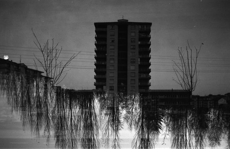 Fotografia e Arquitetura: Aitor Estévez Olaizola, Raíces · analógico · 35mm · dupla exposição ©aitorestevez