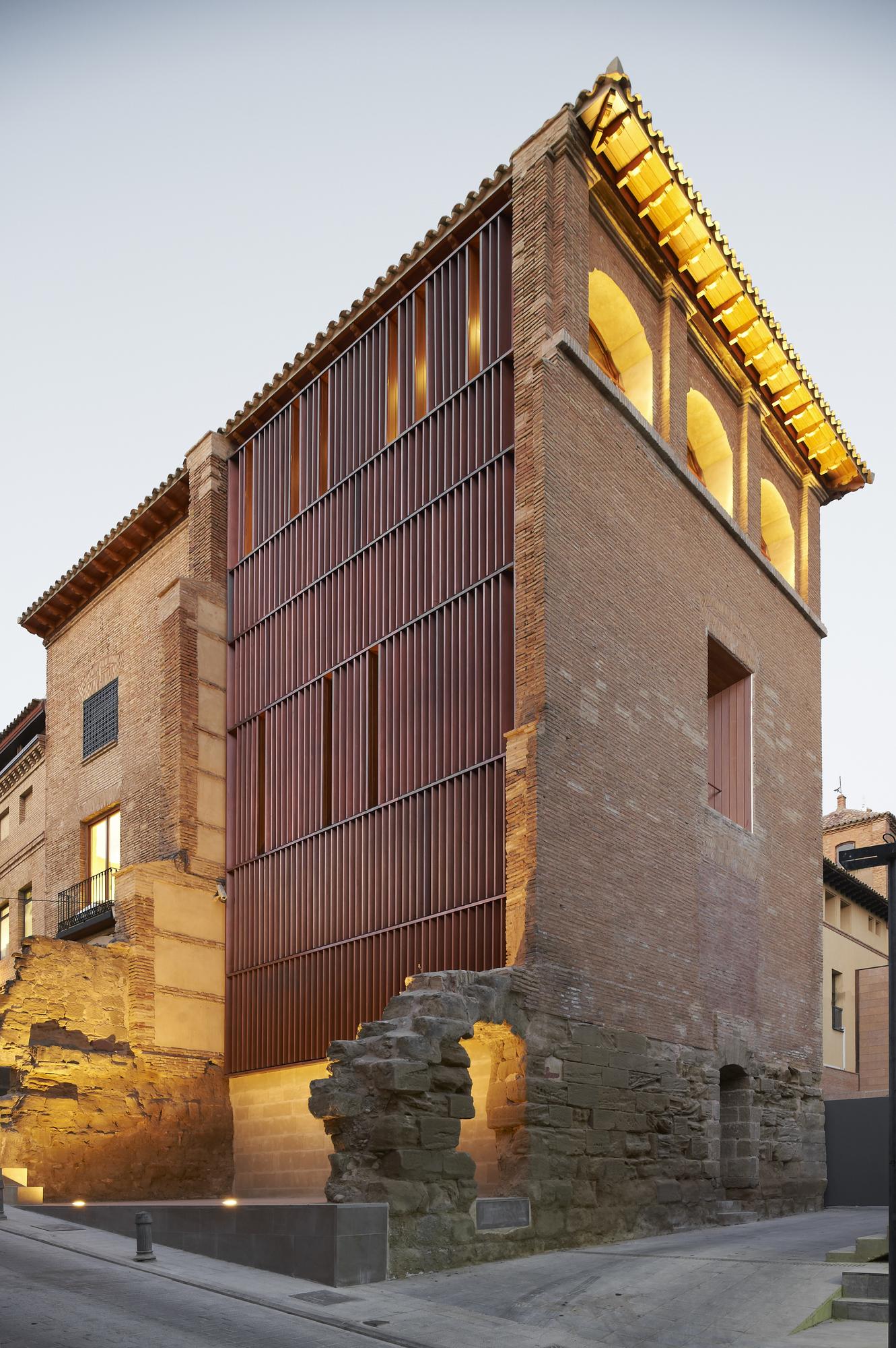 Reabilitação do Arquivo Histórico de Huesca / ACXT, © Iñaki Bergera