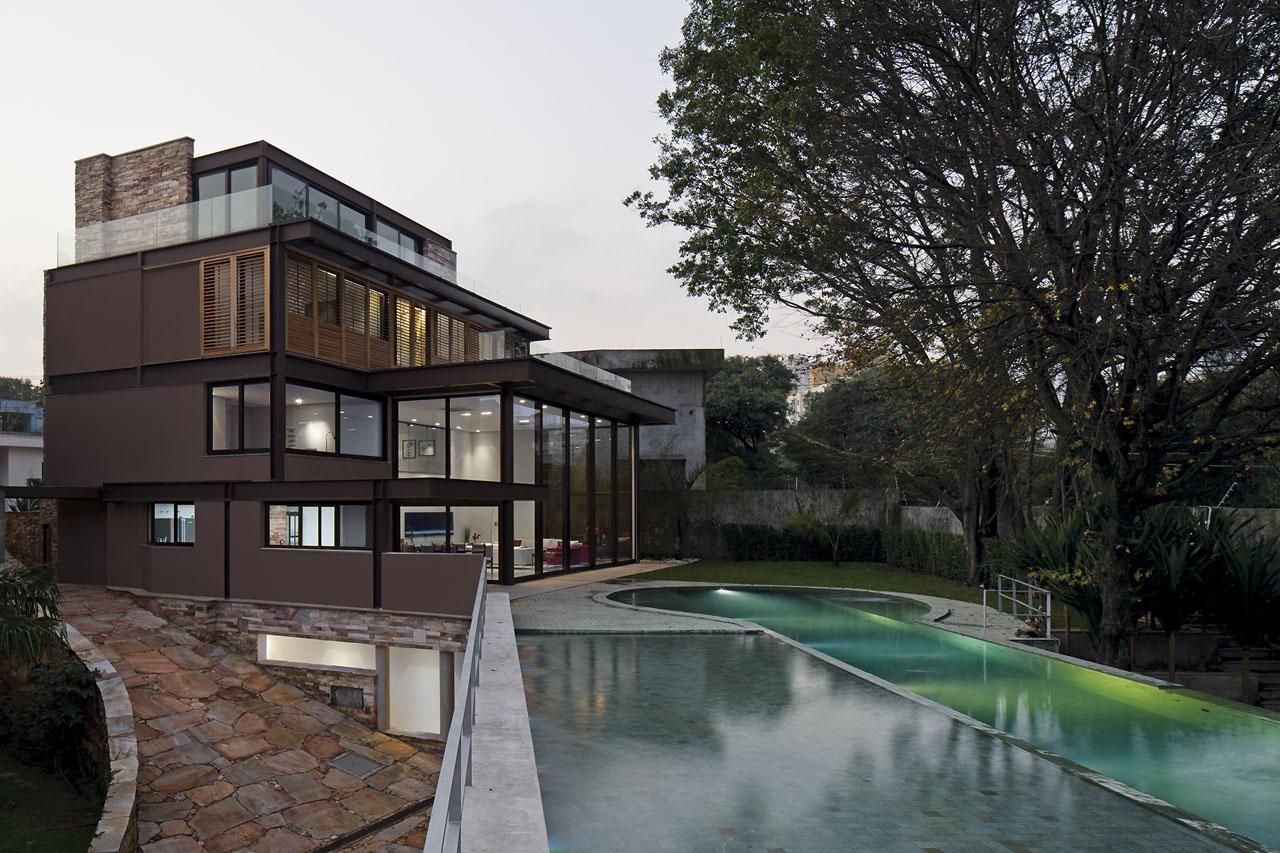 Casa AM / Drucker Arquitetura, © Leonardo Finotti