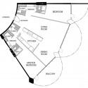 Planta Apartamento tipo 2