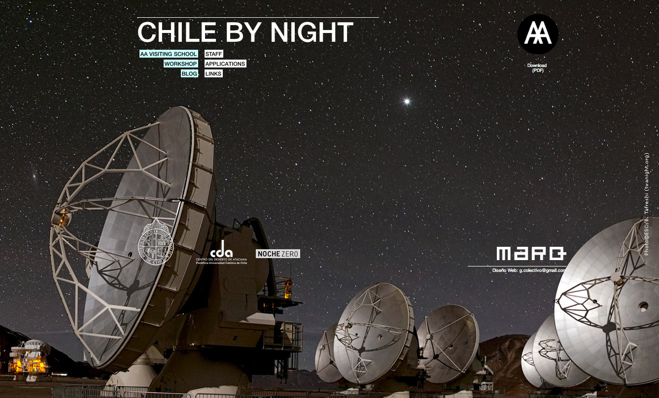 Chile by Night, Via www.chilebynight.org