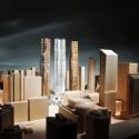 Vista de Sul | Cortesia de Gehry International Inc.