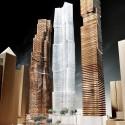 Vista de Sudeste | Cortesia de Gehry International Inc.