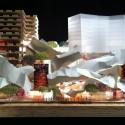 Podium | Cortesia de Gehry International Inc.