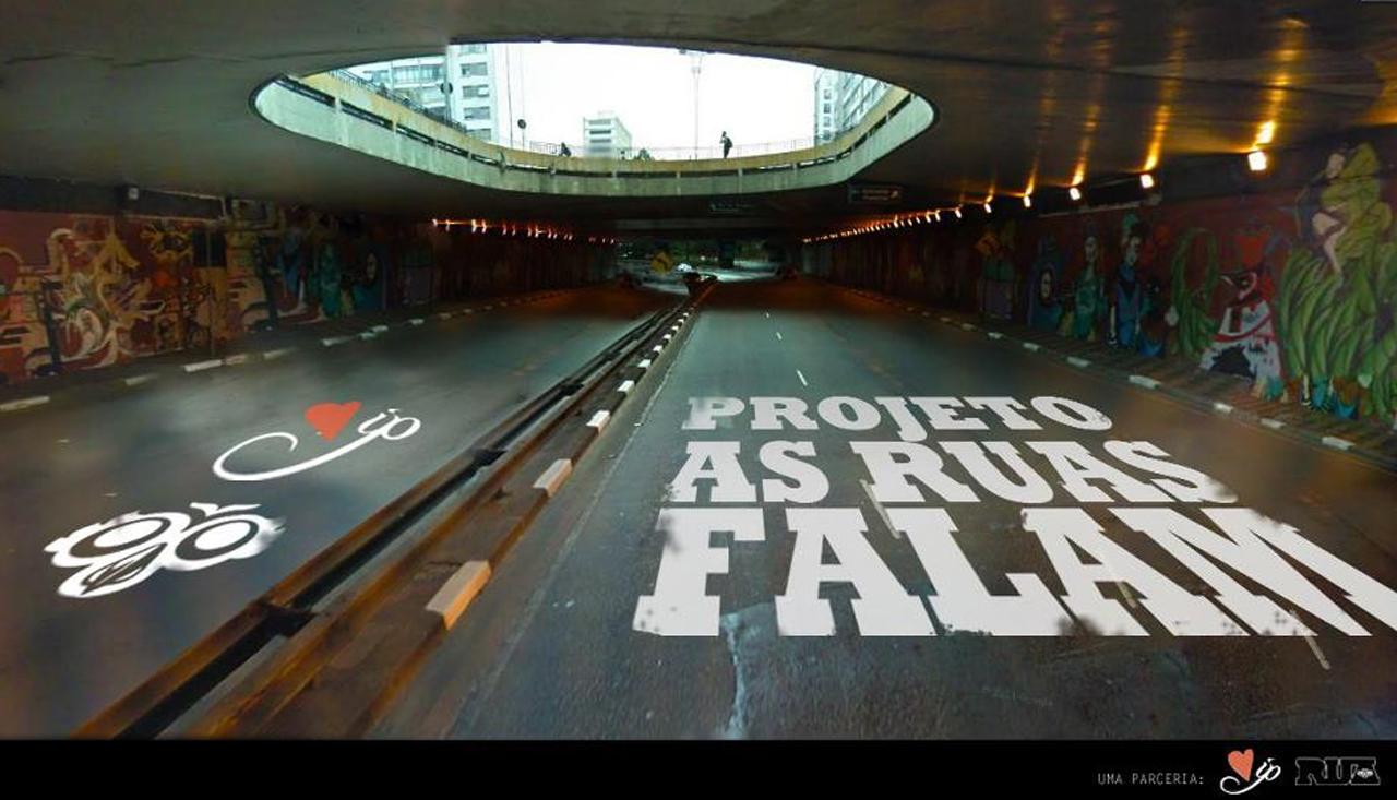 """""""As Ruas Falam"""" / Inspiration Page e RUA, Divulgação"""