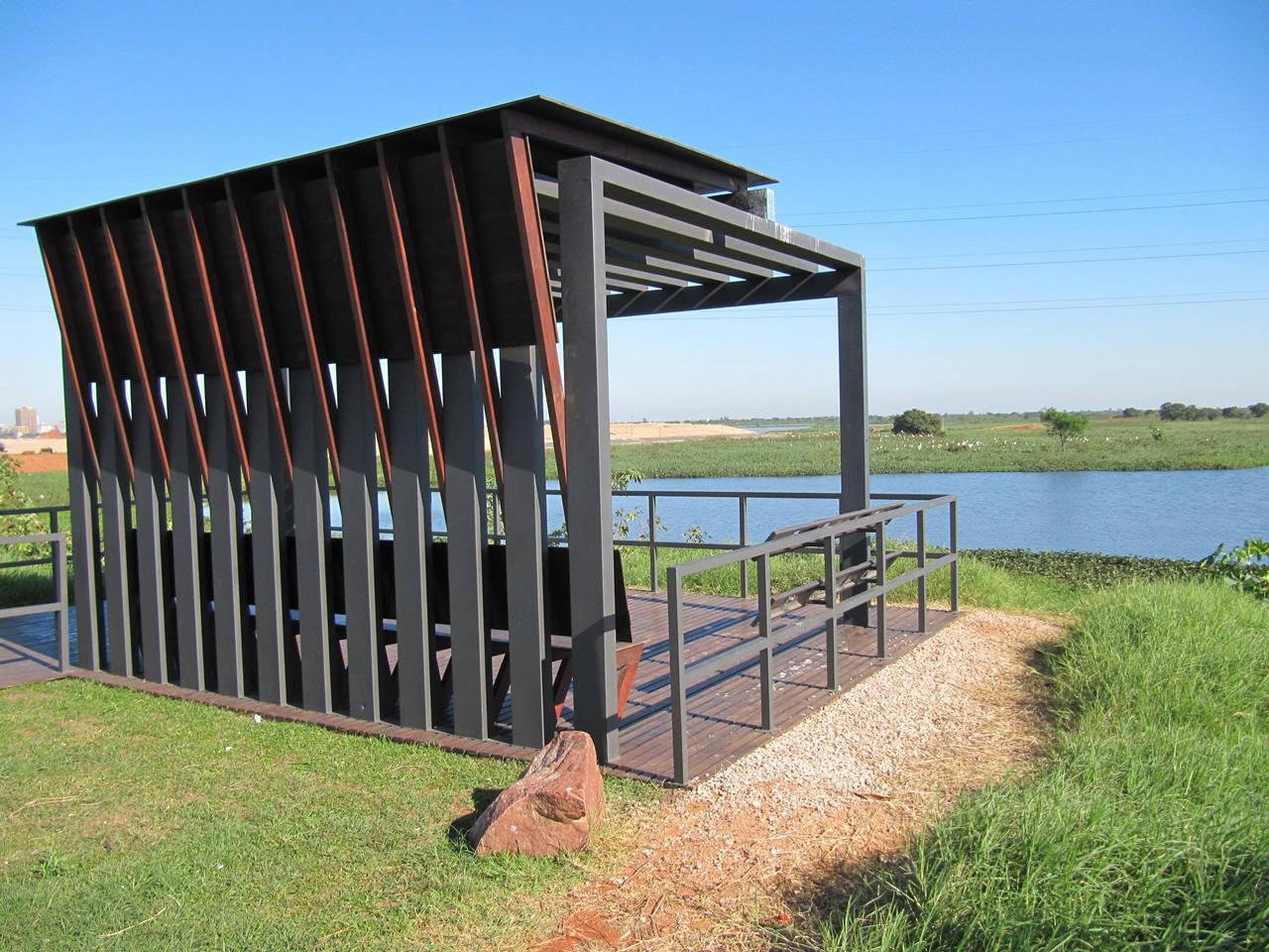 Observatório de Aves / Pedro Barrail + Marcelo Barrail + Lourdes Mendez, Cortesia arquitetos