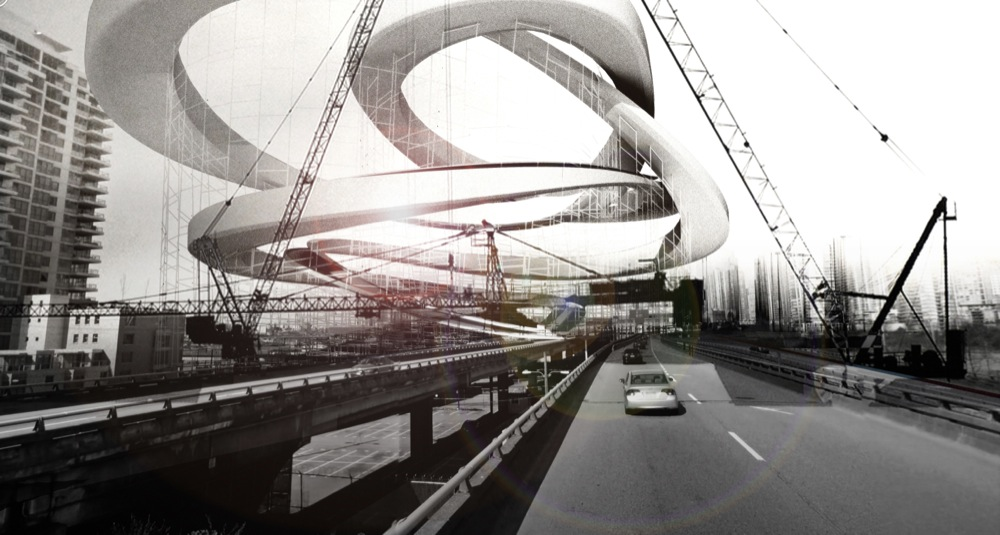 Georgia Grind: Uma infraestrutura para Vancouver , Cortesia de RUFproject