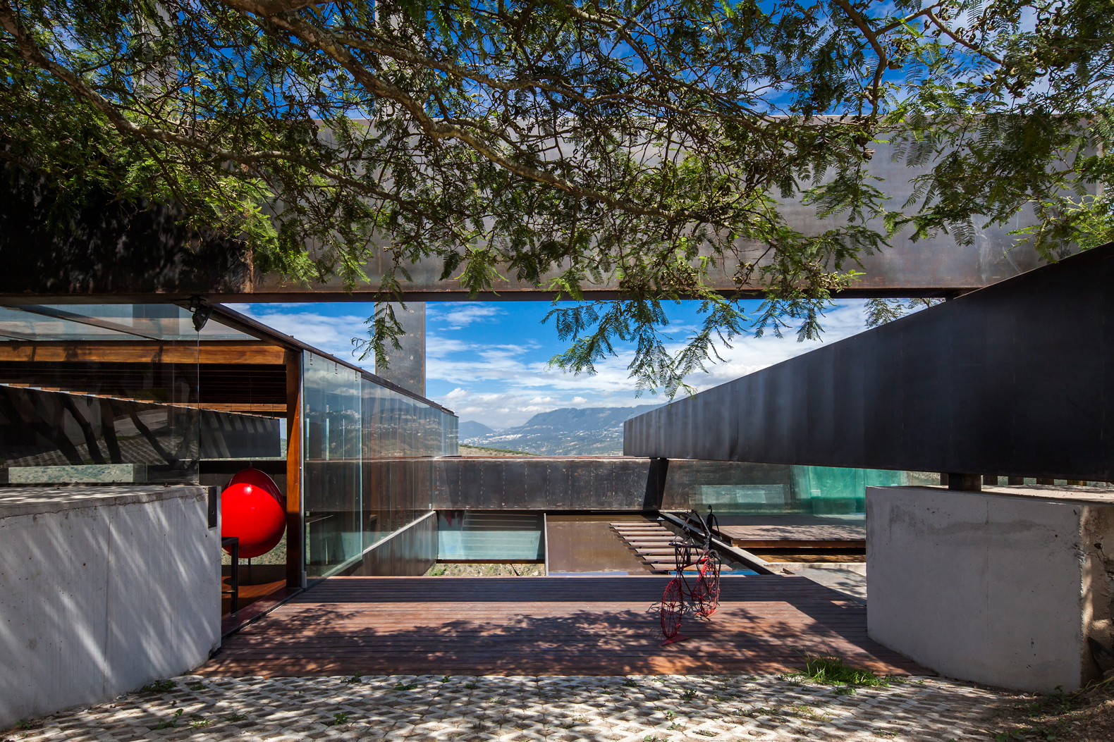 Casa Los Algarrobos / José María Sáez + Daniel Moreno Flores, © Sebastian Crespo