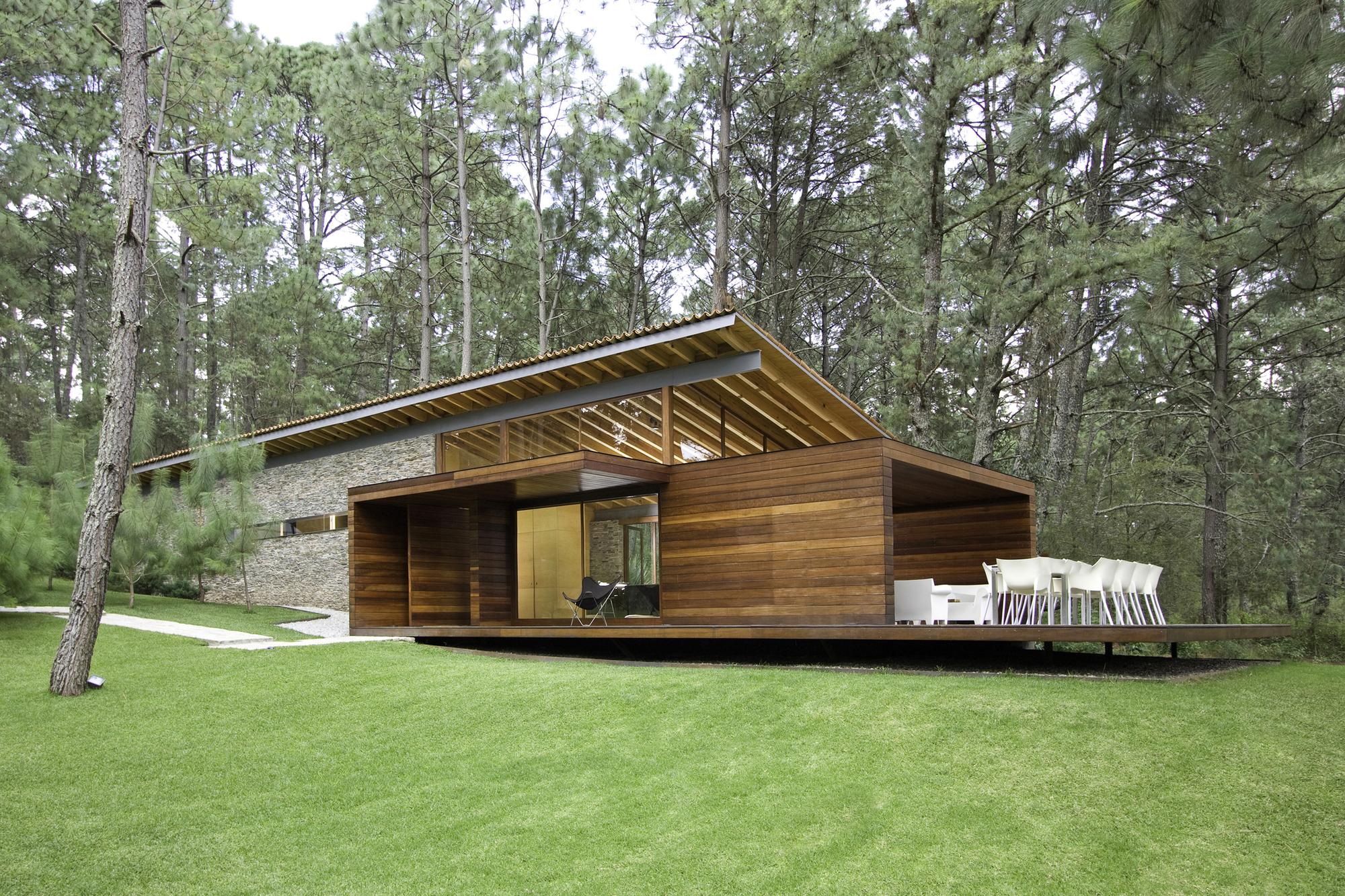 Casa ro tapalpa el as rizo arquitectos archdaily brasil for Casa moderna jardin d el menzah