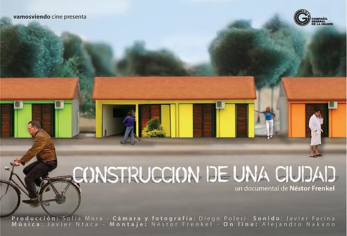 """Cinema e Arquitetura: """"Construcción de una ciudad"""", Cartaz"""