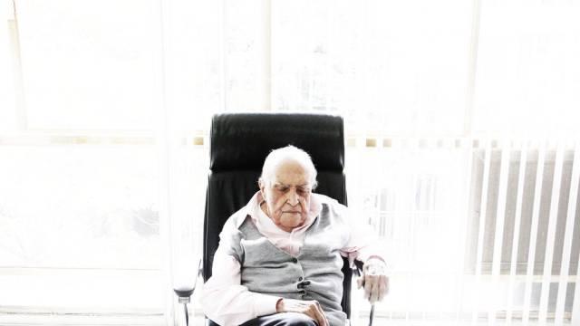 Oscar Niemeyer apresenta piora nesta sexta-feira, ©  Luiz Fernando Vianna - via O Globo