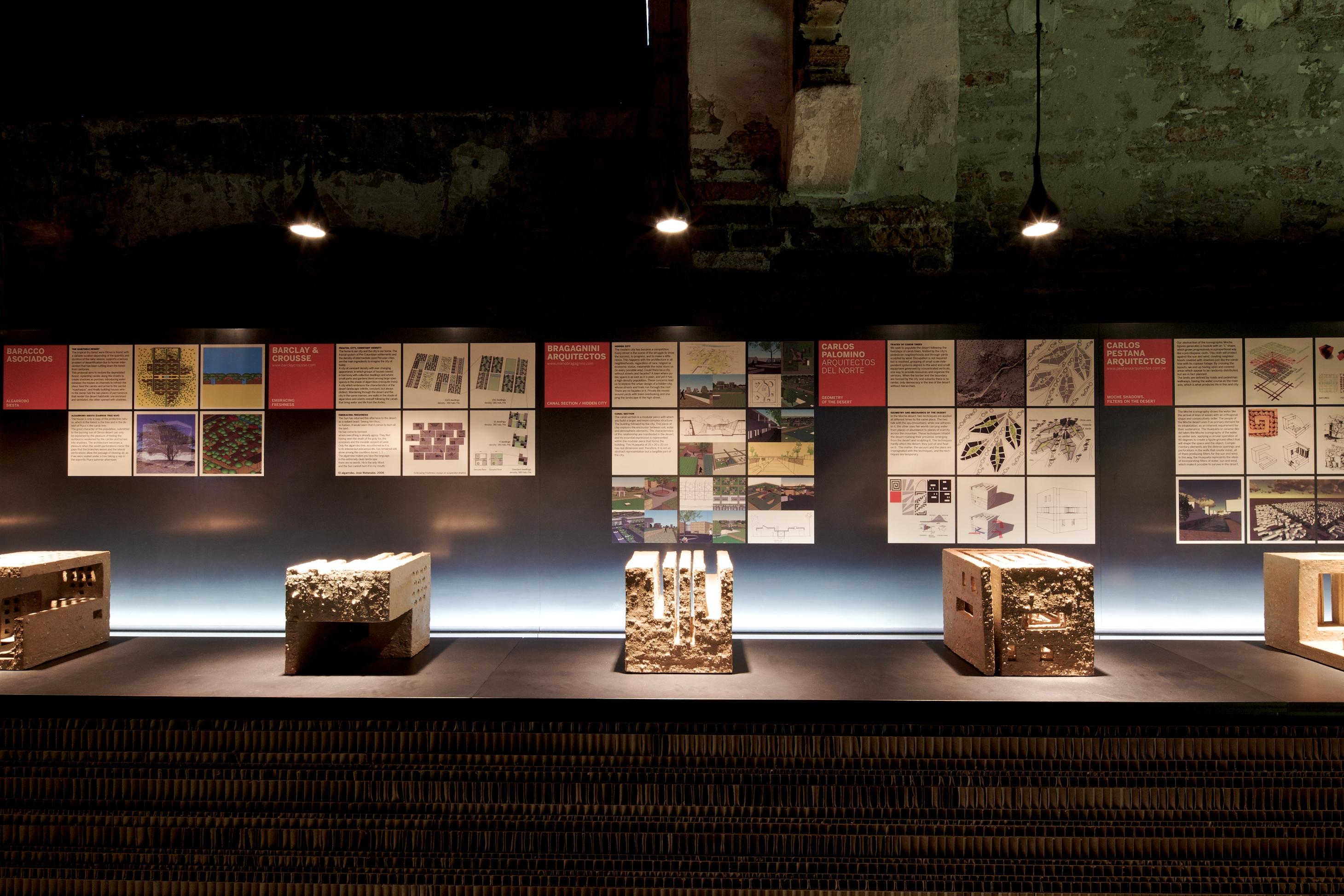 Bienal de Veneza 2012: Yucún ou habitando o deserto / Peru, © Nico Saieh