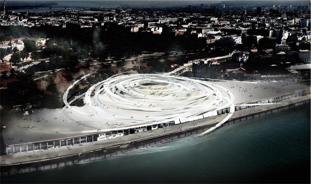 Beton Hala Waterfront Center / Sou Fujimoto Architects, © Sou Fujimoto Architects