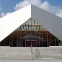 Centro de dados e biblioteca da Universidade do País Vasco © Jorge Allende
