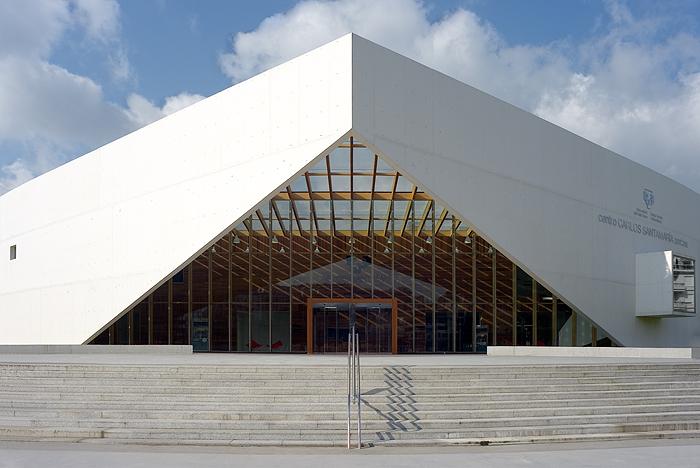 Fotografia e Arquitetura: Jorge Allende, Centro de dados e biblioteca da Universidade do País Vasco © Jorge Allende