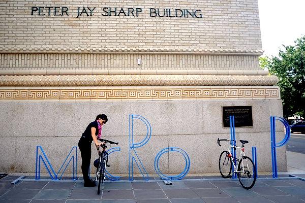 Os racks para bicicletas de David Byrne, Via Plataforma Urbana