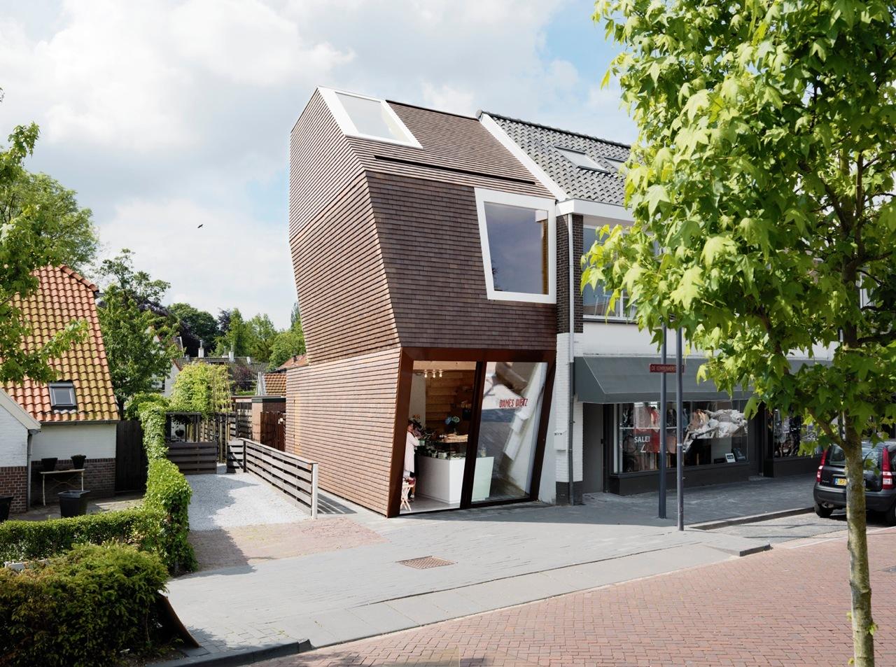 Novo Edifício para uma Delicatessen / BaksvanWengerden Architecten, © Brandwijk & van Geel
