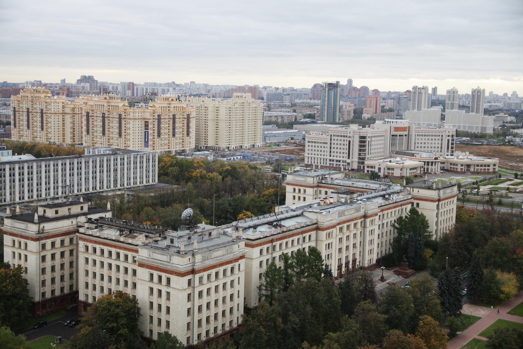 Concurso de Projeto para Museu e Centro Educacional do Museu Politécnico da Universidade de Lomonosov / Moscou - Rússia