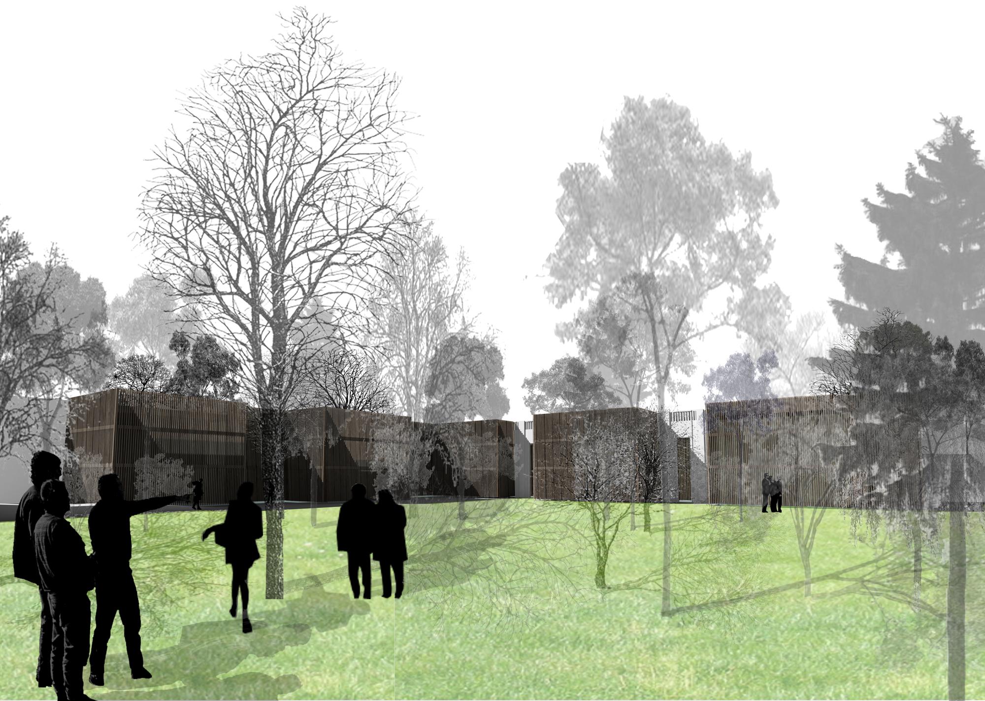 Reabilitação e Ampliação da Embaixada do Brasil no Chile / Ipiña+Nieto Arquitectos + Ossa Arquitectura y Asociados, Cortesia de Ipiña+Nieto Arquitectos + Ossa Arquitectura y Asociados
