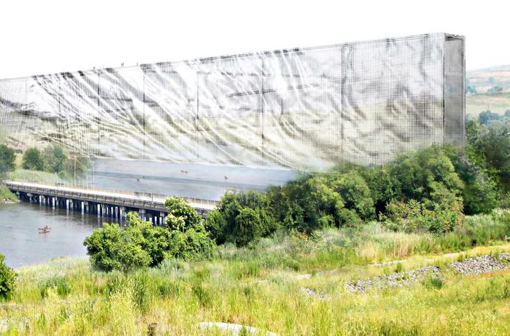 Anunciados os Vencedores do 2012 Land Art Generator Initiative Competition para o Freshkills Park, Fresh Hills / Matthew Rosenberg, Matt Melnyk, Emmy Maruta and Robbie Eleazer; Cortesia de LAGI