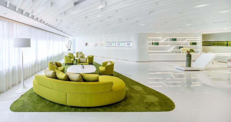 Iluminação do interior do Centro de Estética Neo Derm / Beige Design, Via Contemporist