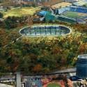 Dorell.Ghotmeh.Tane / Architects & A+Architecture / Cortesia do Conselho Desportivo do Japão
