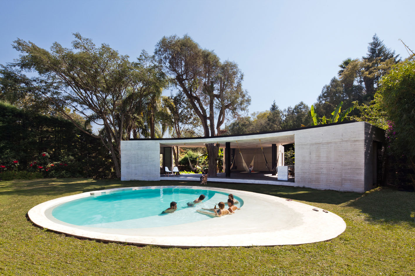 Lounge Tepoztlan / Cadaval & Solà-Morales, © Sandra Pereznieto
