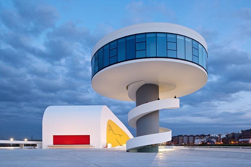 Centro Cultural Principado de Astúrias / Oscar Niemeyer, © Iñigo Bujedo-Aguirre