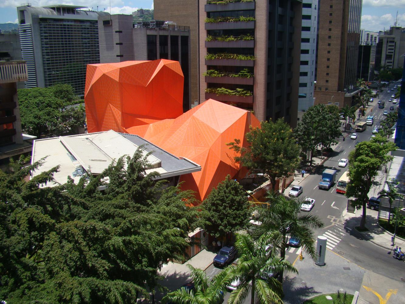 Teatro Municipal Chacao / ODA, Cortesia ODA