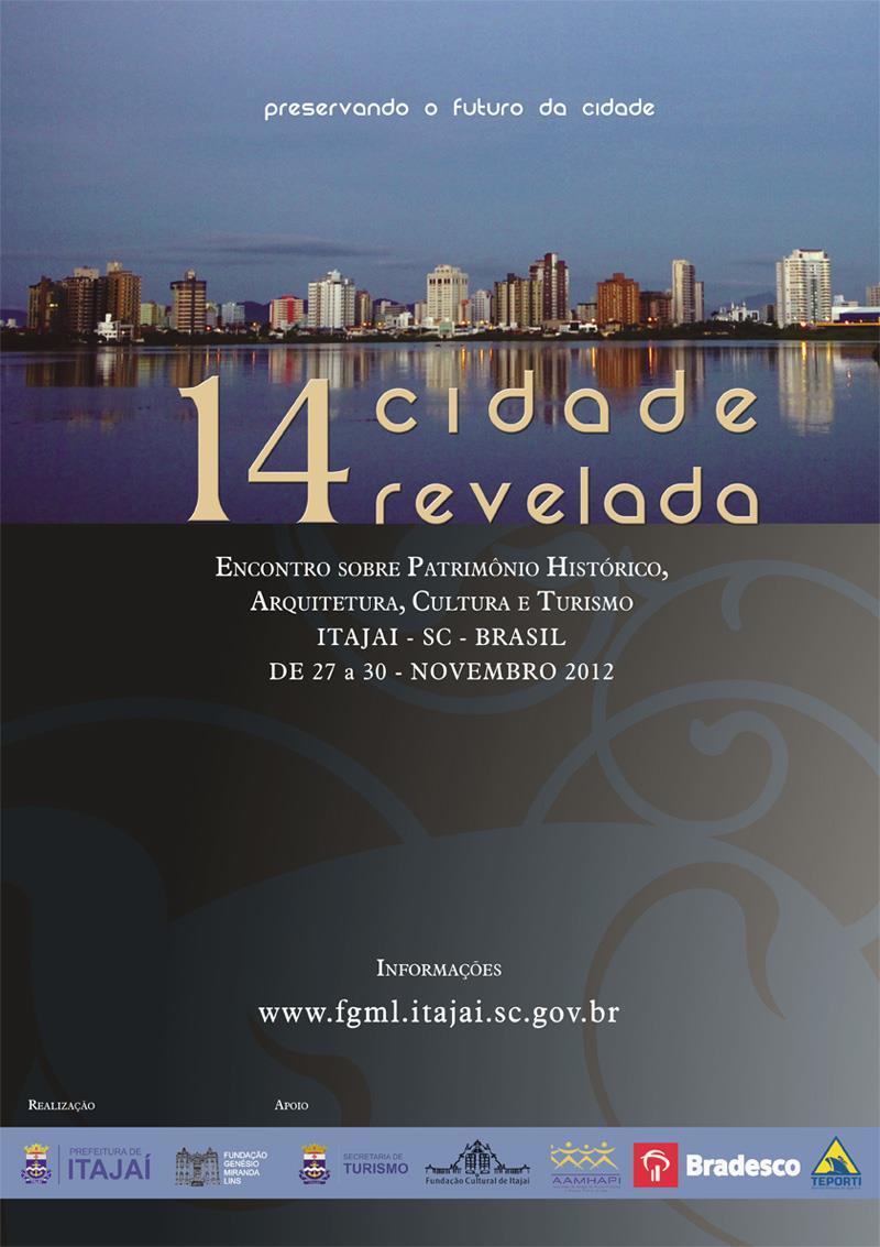14ª Cidade Revelada / Itajaí - SC, Divulgação