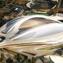 Zaha Hadid Architects Entry No.17 – Cortesia de Japan Sport Council
