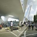 © HNTB proposta vencedora via Sixth Street Viaduct Replacement Project