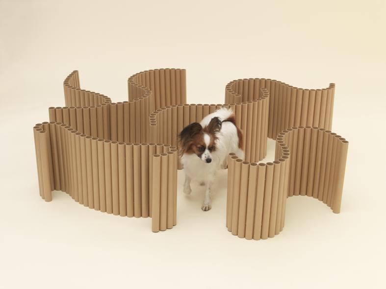 Arquitetura para Cachorros, Arquitetura para Papillons, por Shigeru Ban. Fotos por Hiroshi Yoda, cortesia de Architecture for Dogs.
