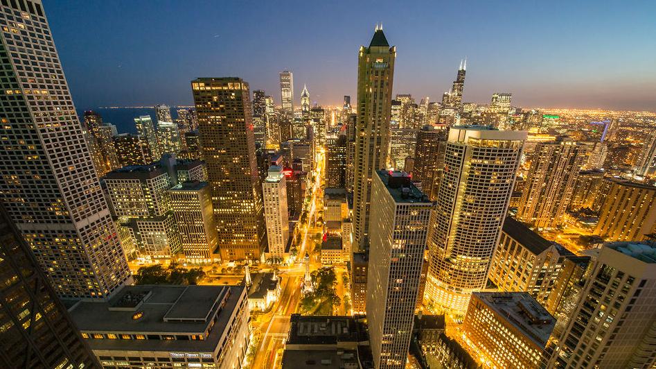 Vídeo: Cityscape Chicago, Imagem capturada do vídeo