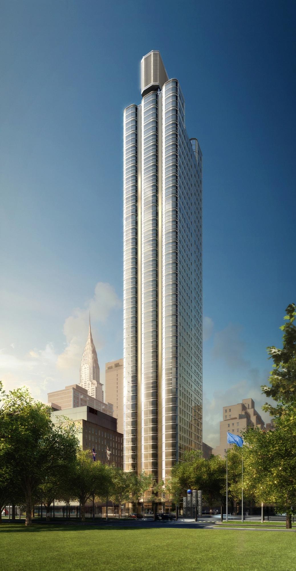 Primeiro edifício residencial de Foster+Partners nos EUA começa a ser construído