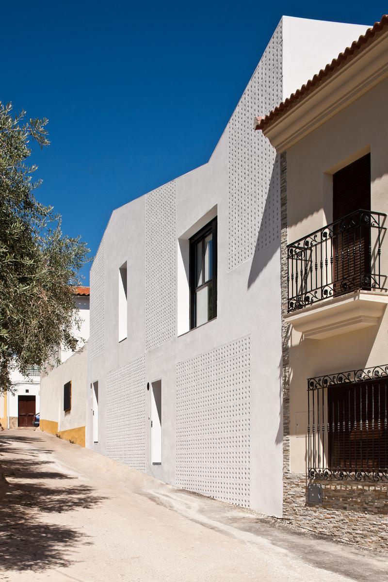 2 vivendas em Torre de Miguel Sesmero / GAas architecture studio, © Fernando Alda