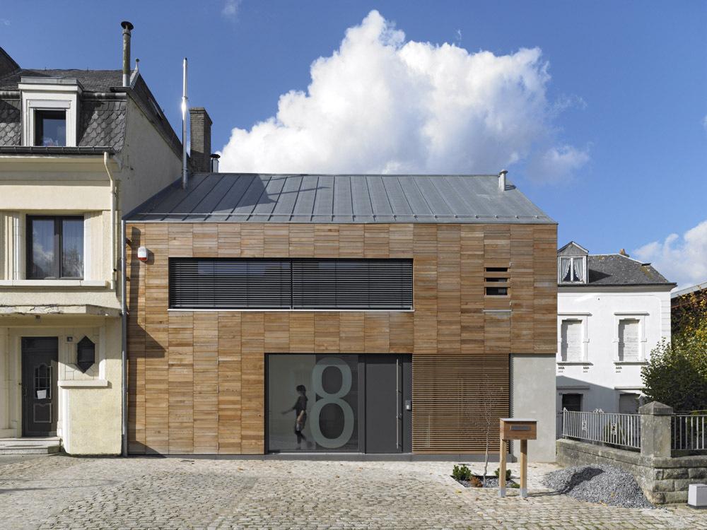 Casa em Dalheim / STEINMETZDEMEYER Architectes Urbanistes