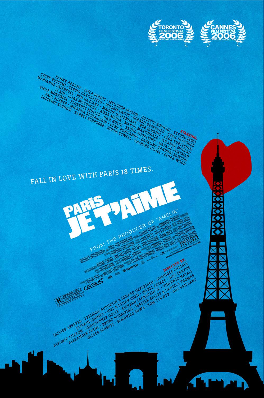 """Cinema e Arquitetura: """"Paris, Eu te Amo"""", Cartaz - Divulgação"""
